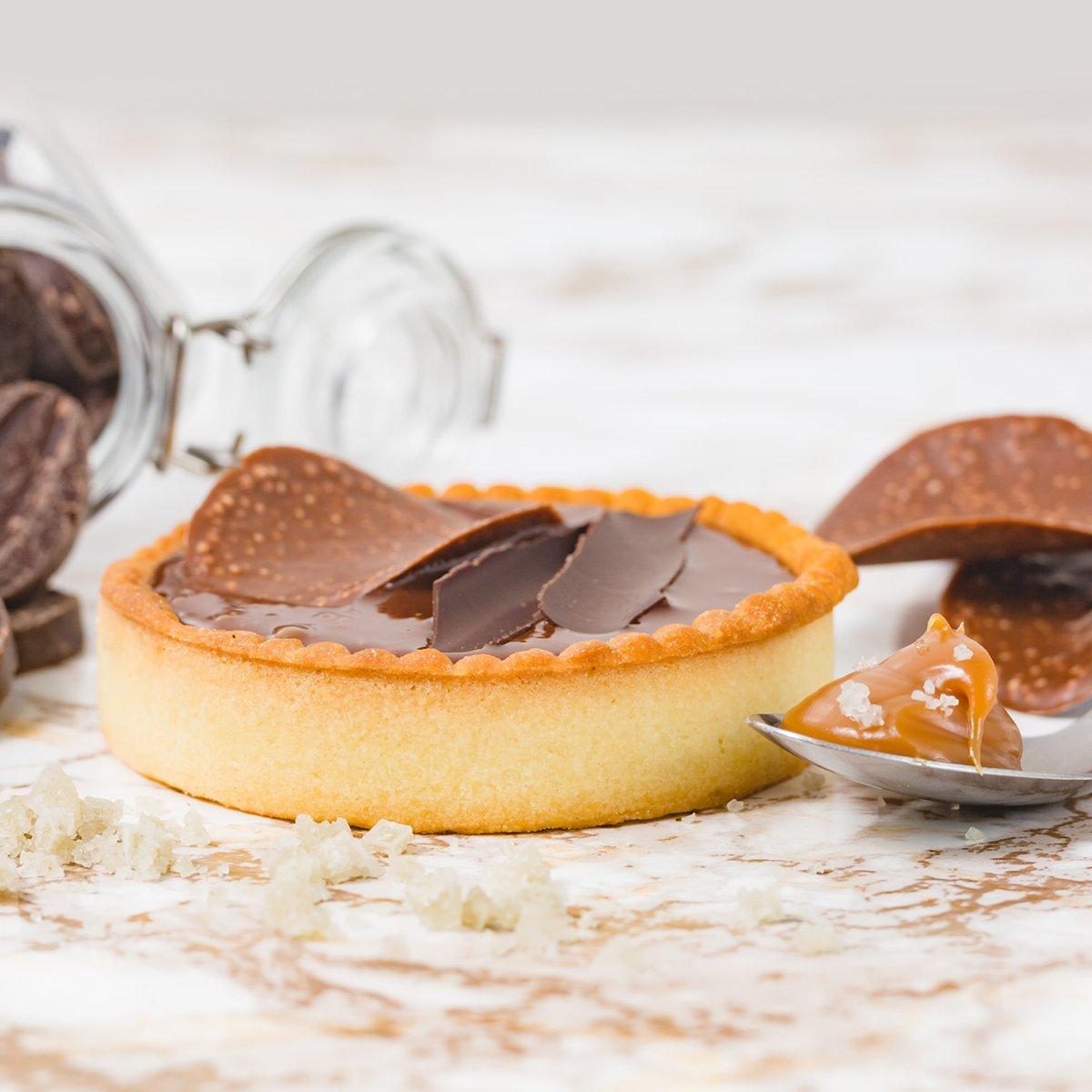 Chocolate Sea Salt Caramel Single | Merci Beaucoup Cakes