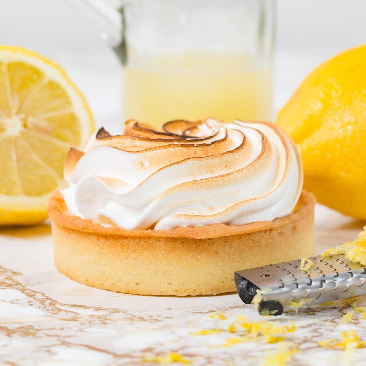 Lemon Meringue Tart Single | Merci Beaucoup Cakes