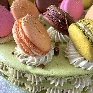 Macaron Cake | Merci Beaucoup Cakes