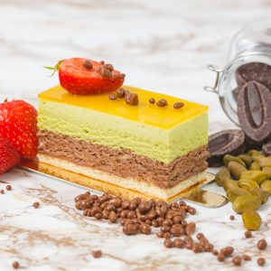 Set of 5 Pistachio Mousse Single | Merci Beaucoup Cakes