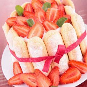 Charlotte Aux Fraises | Merci Beaucoup Cakes